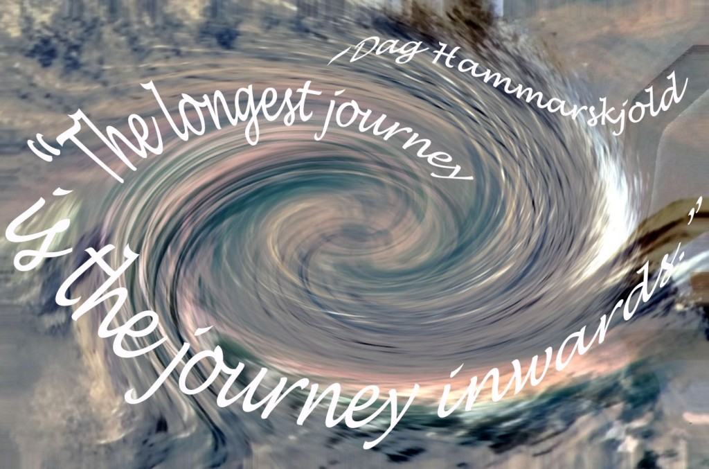"""The longest journey is the journey inwards."""